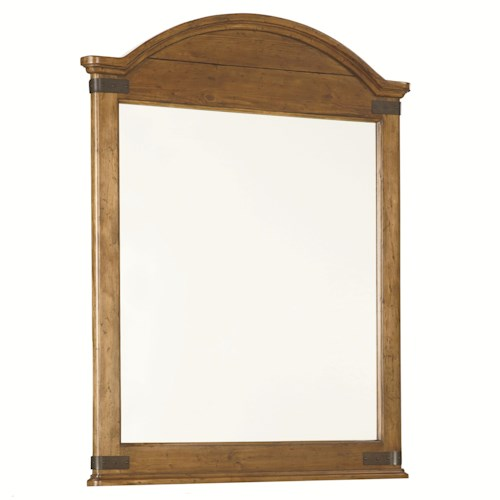 Legacy Classic Kids Bryce Canyon Arched Mirror with Wood Frame