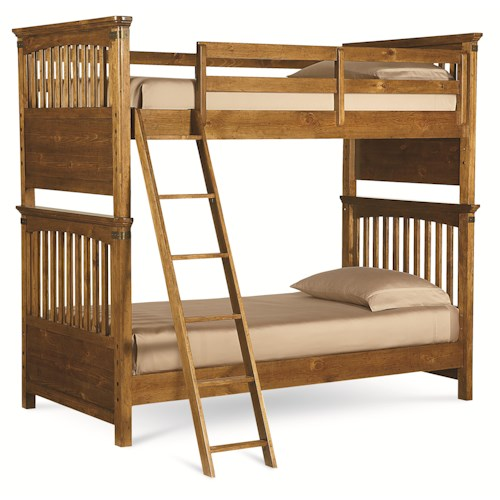 Legacy Classic Kids Bryce Canyon Twin Over Twin Bunk Bed
