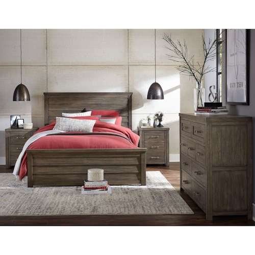 Legacy Classic Kids Bunkhouse Queen Bedroom Group