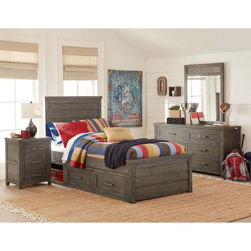 Legacy Classic Kids Bunkhouse Twin Bedroom Group