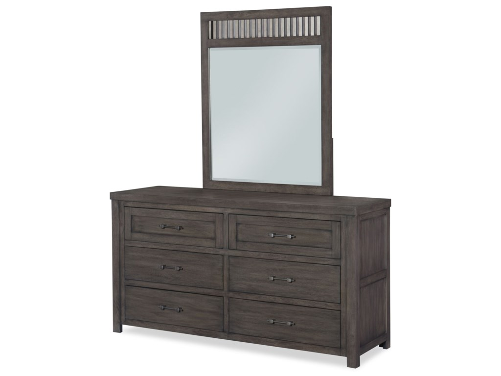 Legacy Classic Kids BunkhouseDresser and Mirror