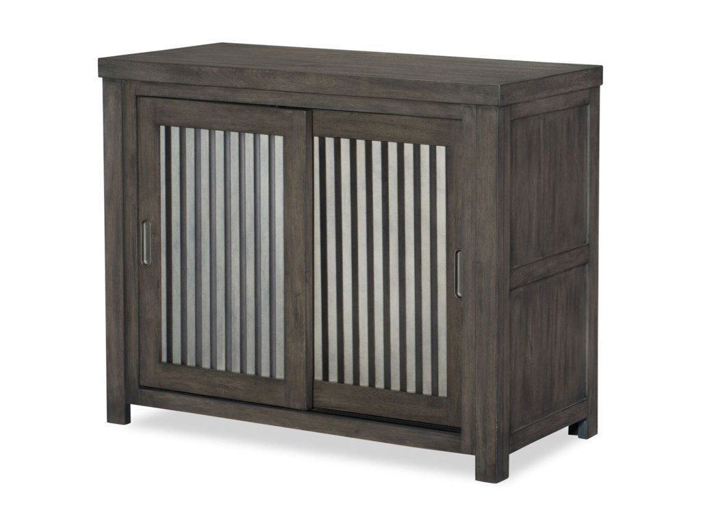 Legacy Classic Kids Bunkhouse Rustic Casual Sliding Door Chest With
