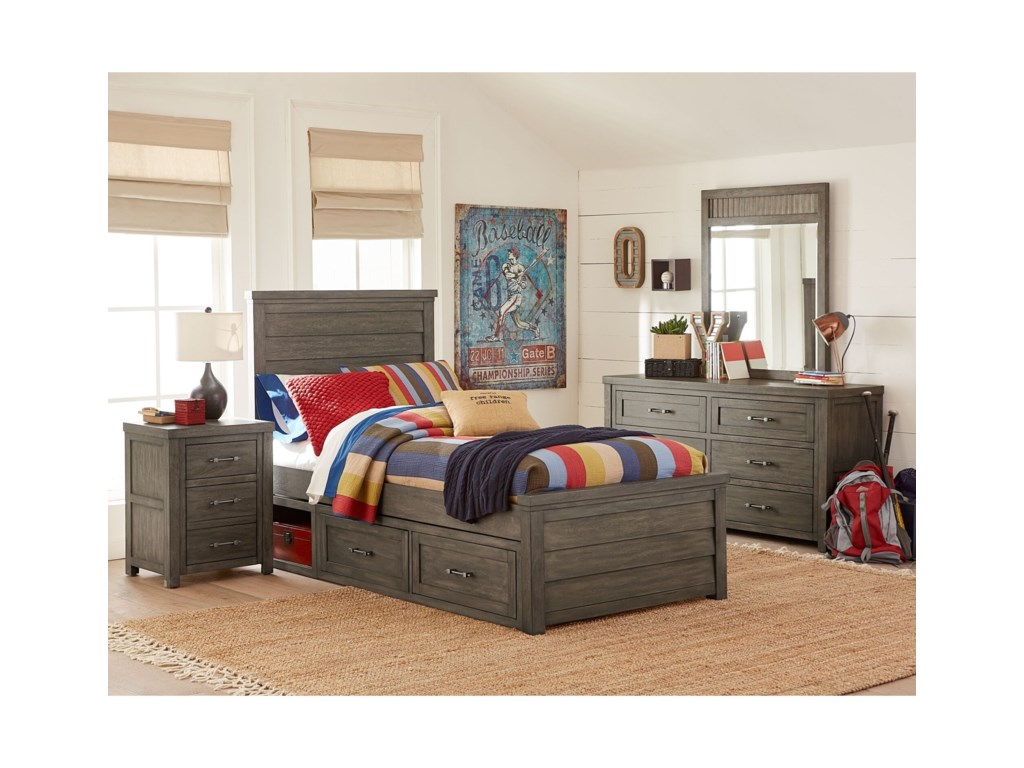 Legacy Classic Kids BunkhouseTwin Panel Bed