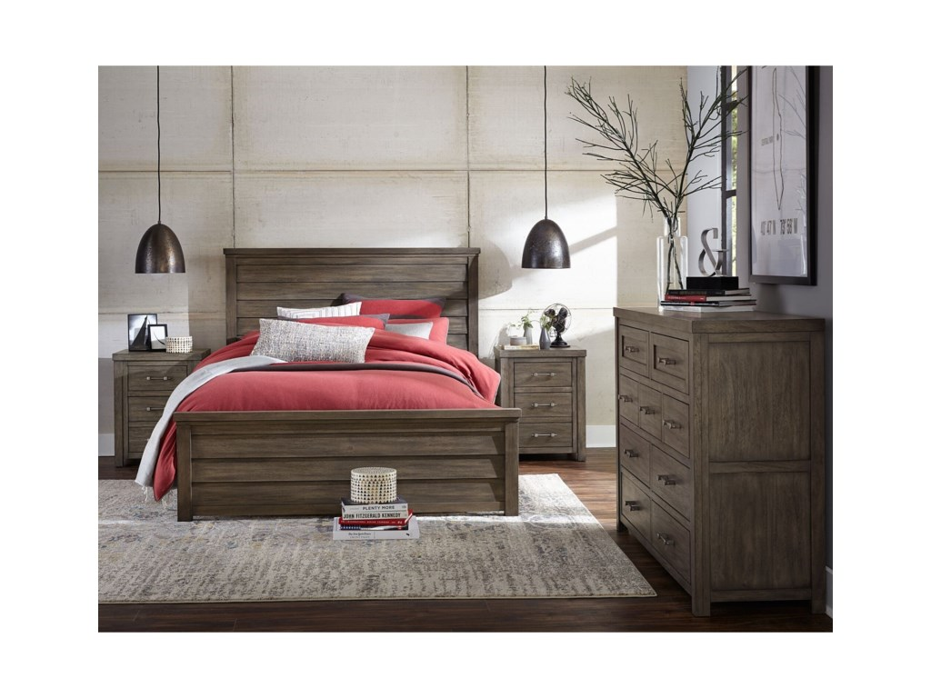 Legacy Classic Kids BunkhouseQueen Panel Bed