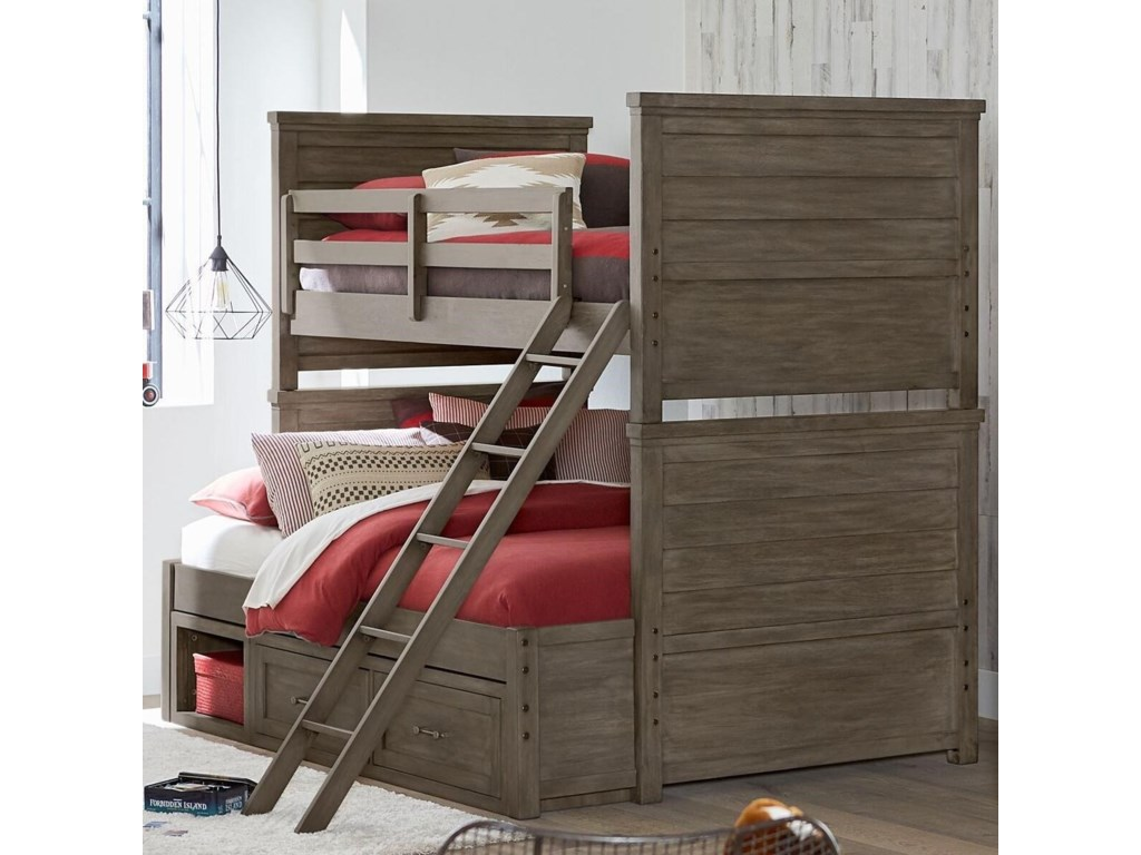 Legacy Classic Kids BunkhouseTwin over Full Bunk Bed