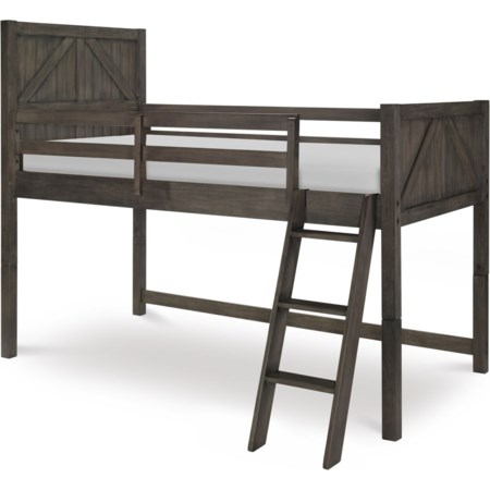 Twin Mid Loft Bed