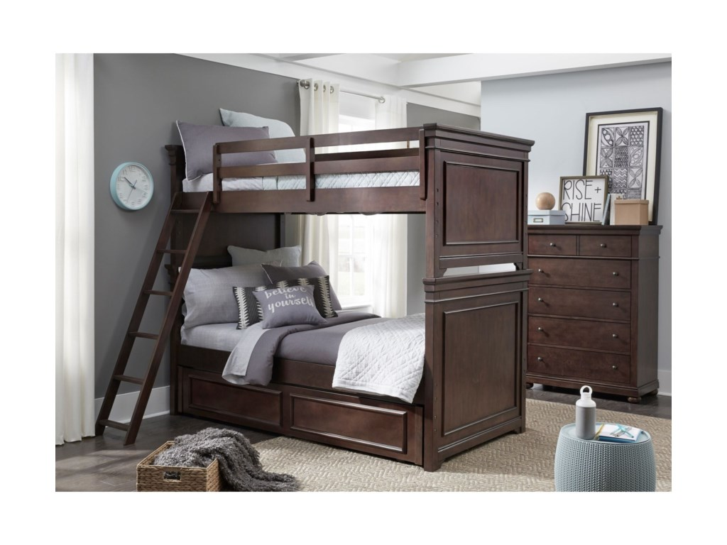 Legacy Classic Kids CanterburyTwin-over-Twin Bunk Bedroom Group