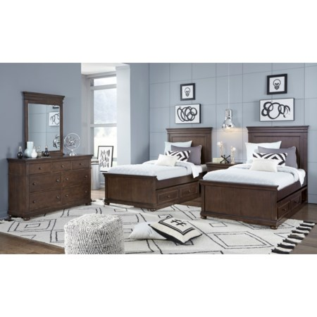 Twin and Full Bedroom Group