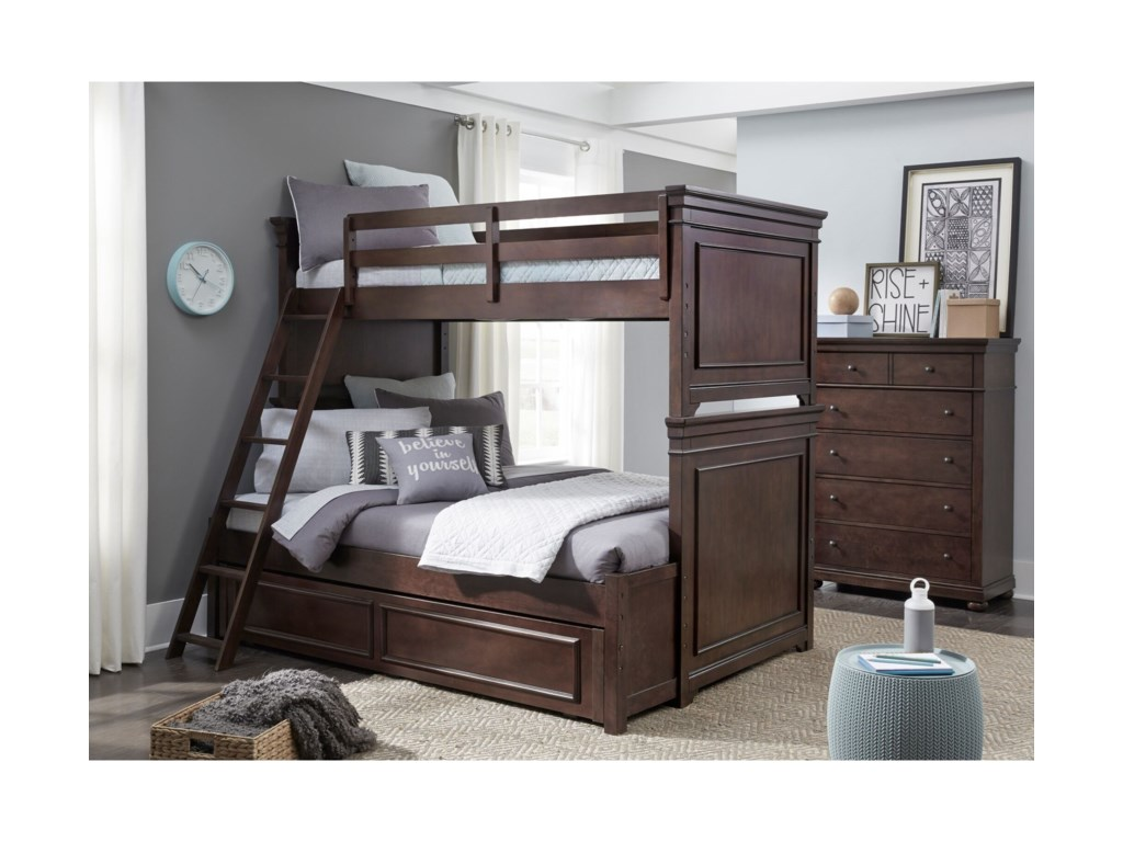 Legacy Classic Kids CanterburyTwin-over-Full Bunk Bedroom Group