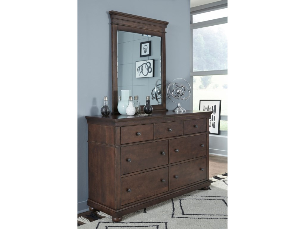 Legacy Classic Kids CanterburyDresser and Mirror Set