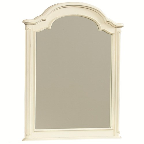 Legacy Classic Kids Charlotte Arched Mirror with Wood Frame