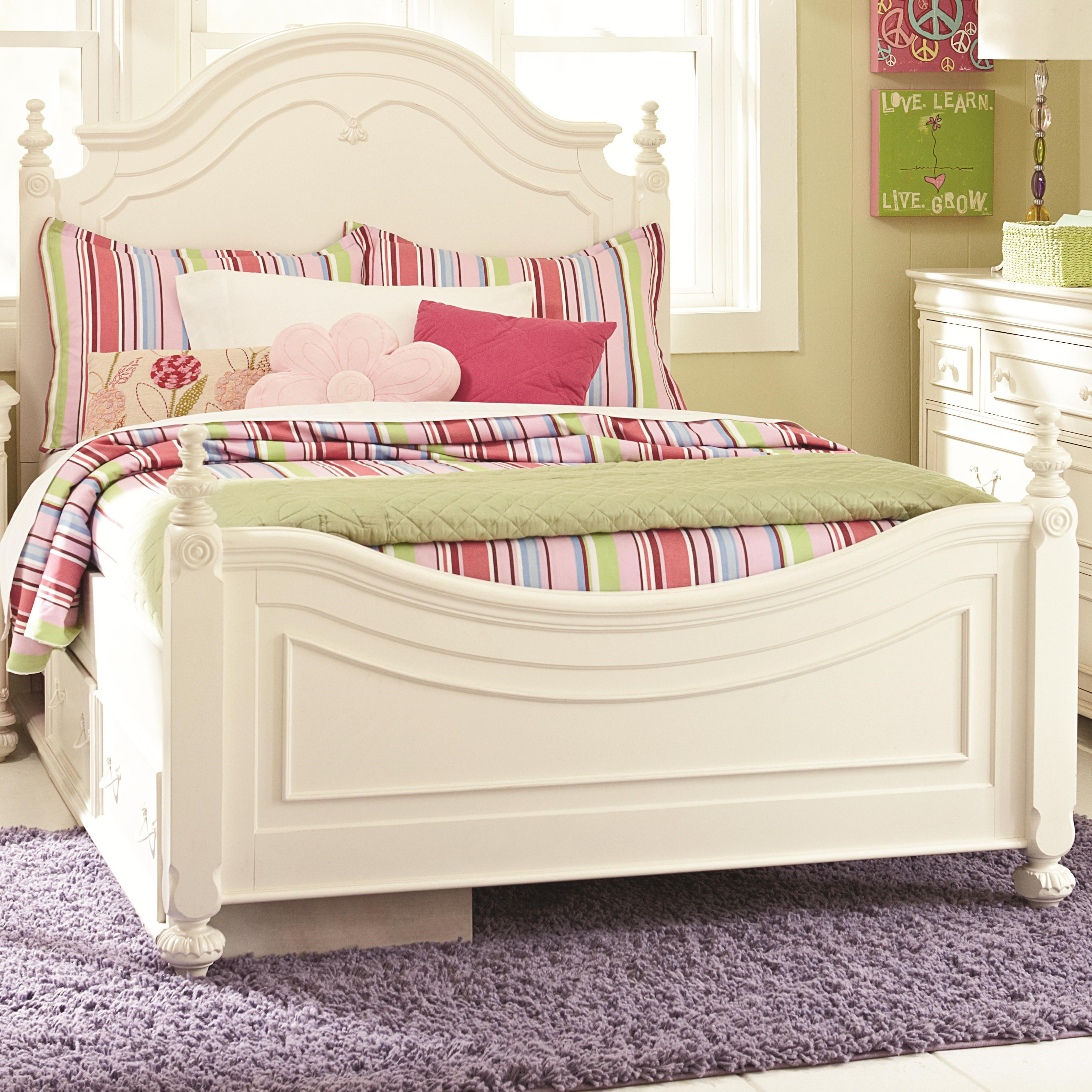 Legacy Classic Kids CharlotteFull Low Poster Bed
