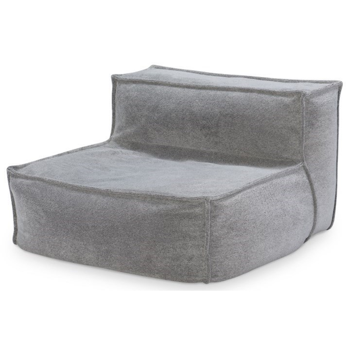 Crash Pad Contemporary Upholstered Armless Chair With Memory Foam By Legacy Classic Kids At Efo Furniture Outlet