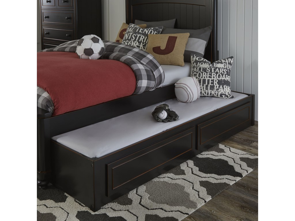 Legacy Classic Kids CrossroadsFull Panel Bed with Storage Trundle