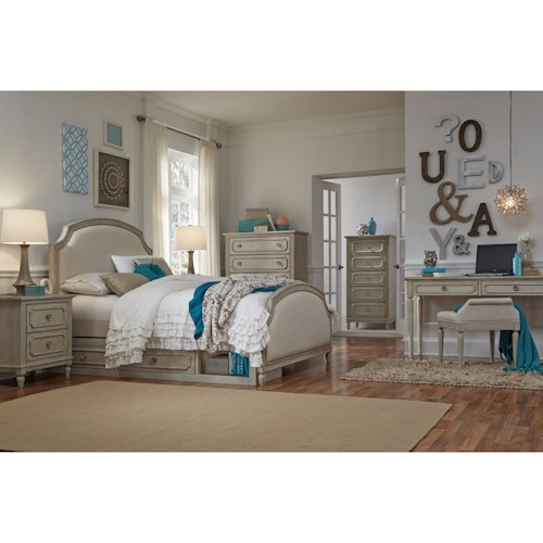 Legacy Classic Kids Emma Queen Bedroom Group