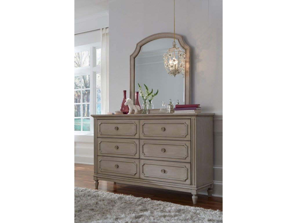 Legacy Classic Kids EmmaDresser and Mirror Set