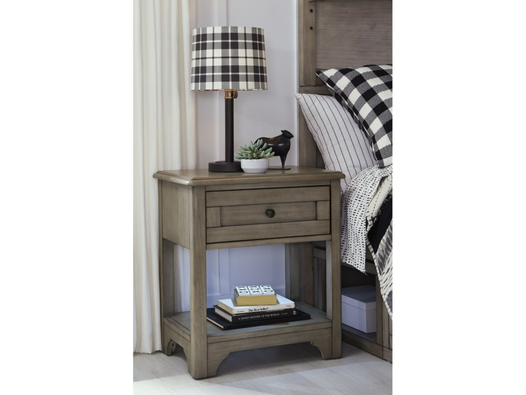 Legacy Classic Kids Farm HouseOpen Nightstand