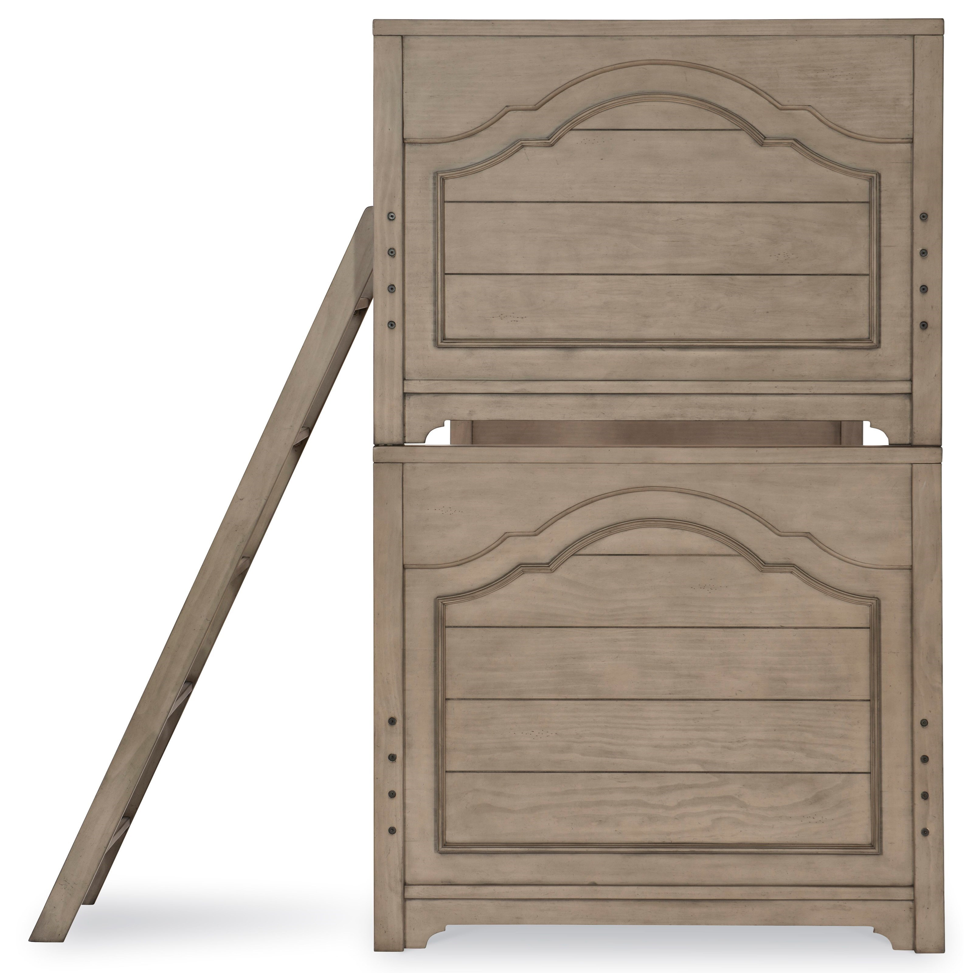 Picture of: Legacy Classic Kids Farm House Modern Farmhouse Twin Over Twin Bunk Bed Wayside Furniture Bunk Beds