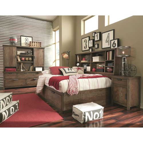 Legacy Classic Kids Fulton County Twin Bedroom Group
