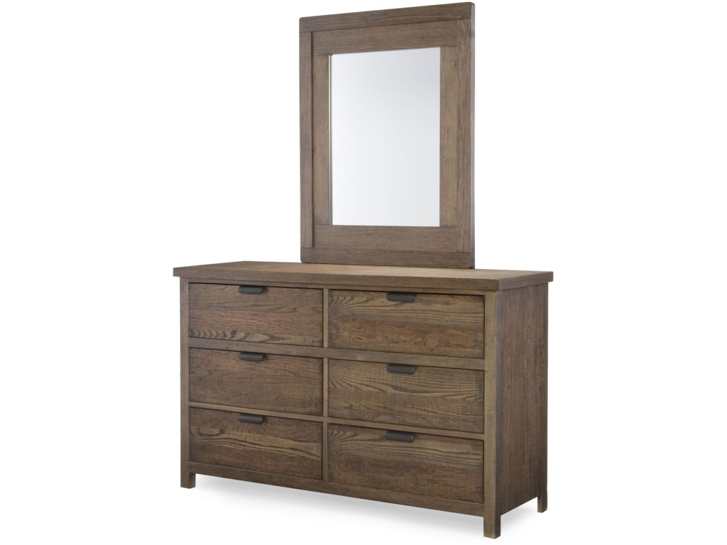 Legacy Classic Kids Fulton CountyDresser and Mirror Set