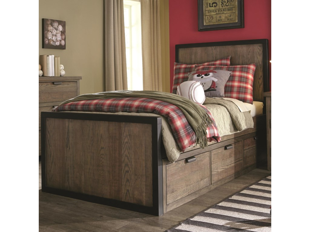 Legacy Classic Kids Fulton CountyFull Panel Bed with Storage