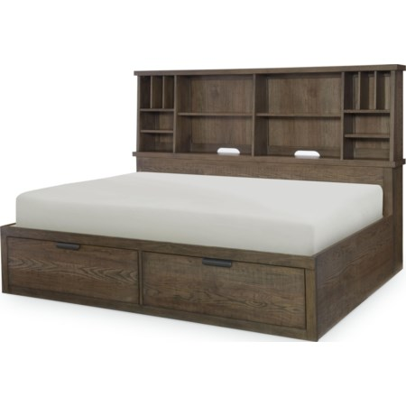 Full Bookcase Lounge Bed