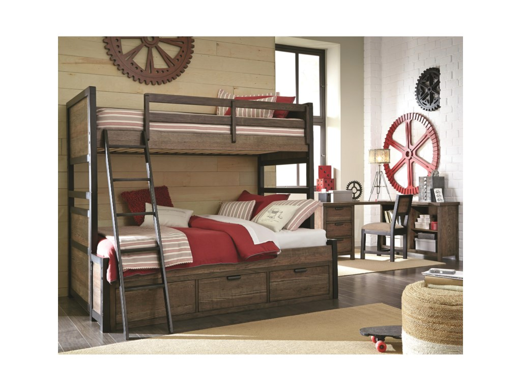 Legacy Classic Kids Fulton CountyTwin Over Full Bunk Bed