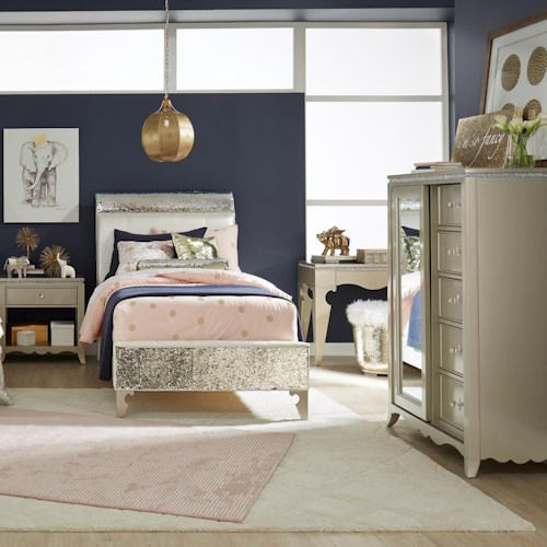 Legacy Classic Kids Glitz and Glam Full Bedroom Group
