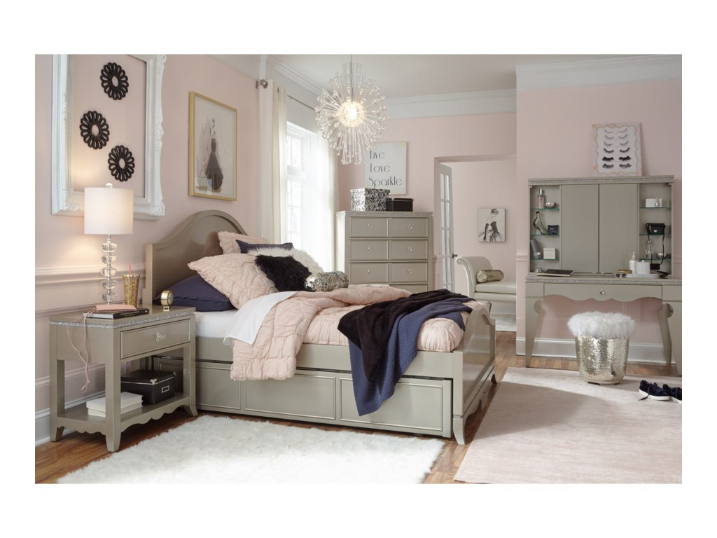 Legacy Classic Kids Glitz and GlamTwin Bedroom Group