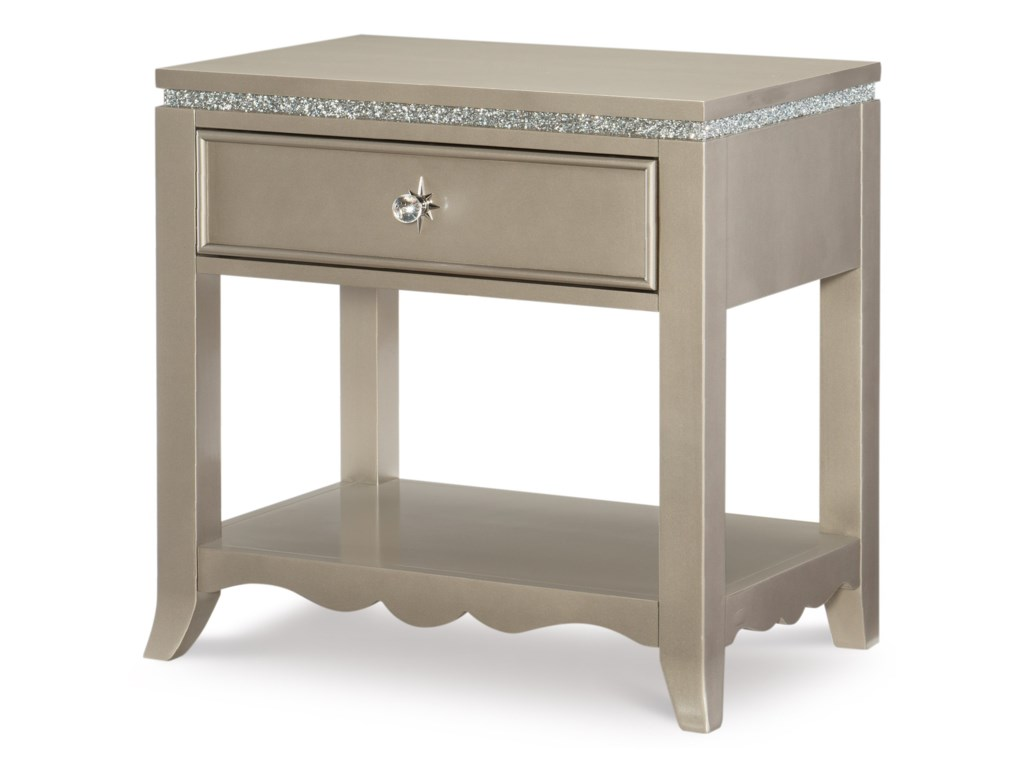 Legacy Classic Kids Glitz and GlamNightstand