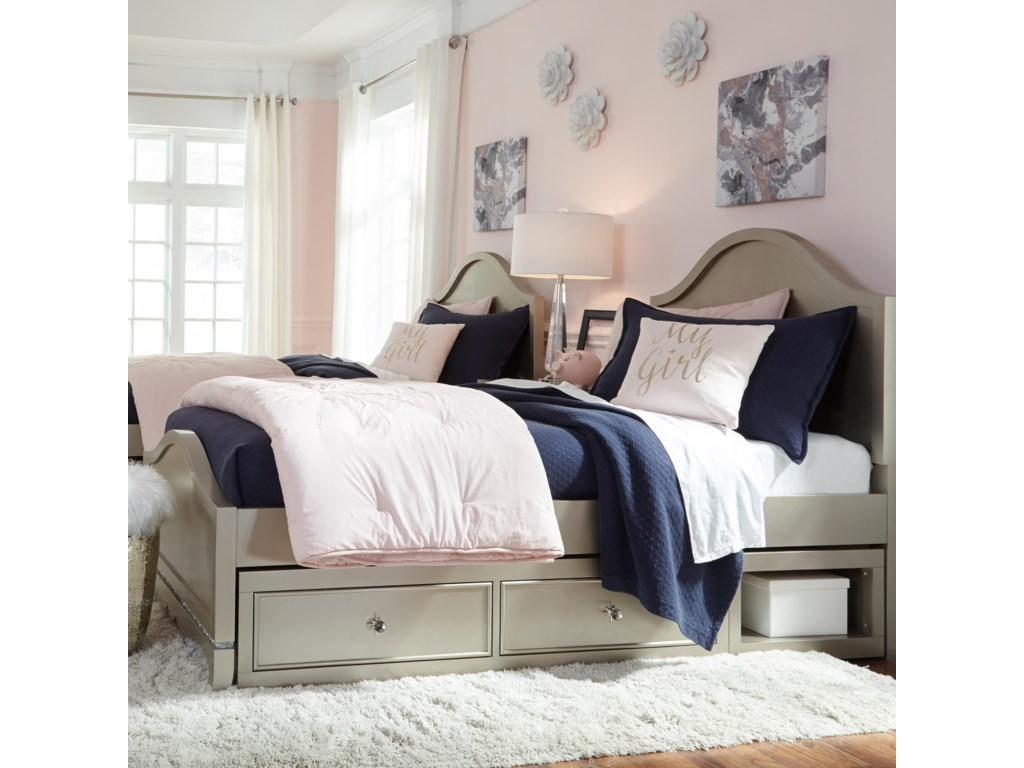 Legacy Classic Kids Glitz and GlamTwin Panel Bed