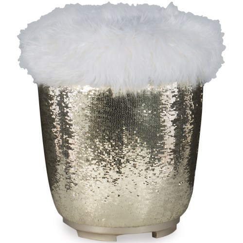 Legacy Classic Kids Glitz and Glam Glam Vanity Stool with Concealed Storage