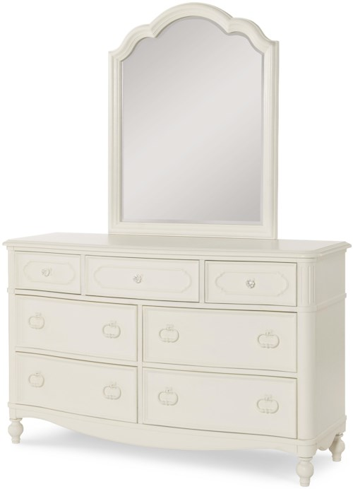 Legacy Classic Kids Harmony Seven Drawer Dresser + Mirror