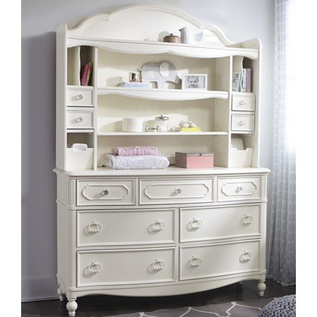 Dresser + Changing Hutch