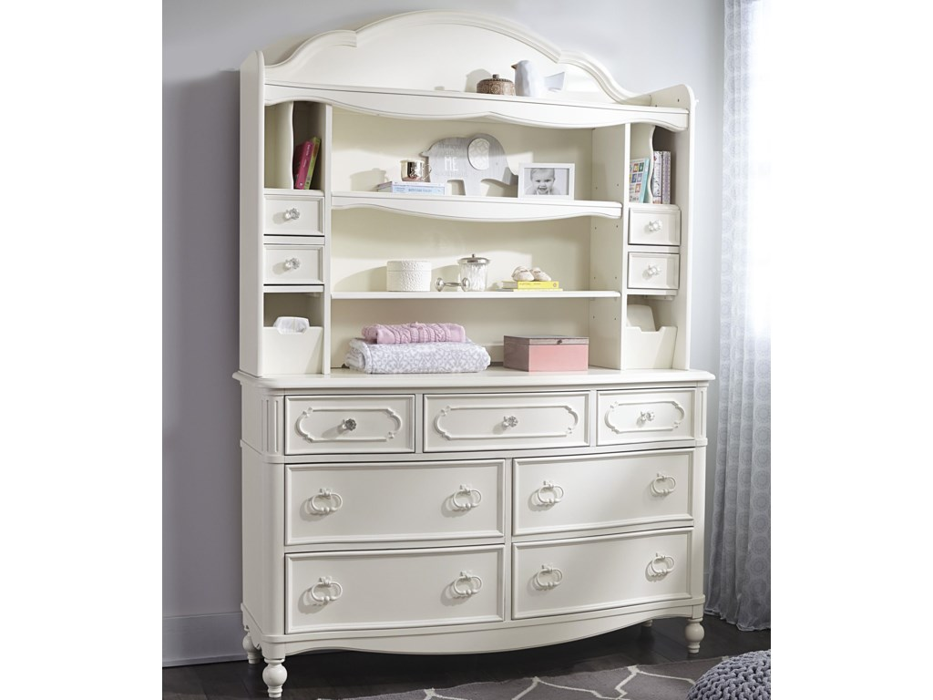 Legacy Classic Kids HarmonyDresser + Changing Hutch