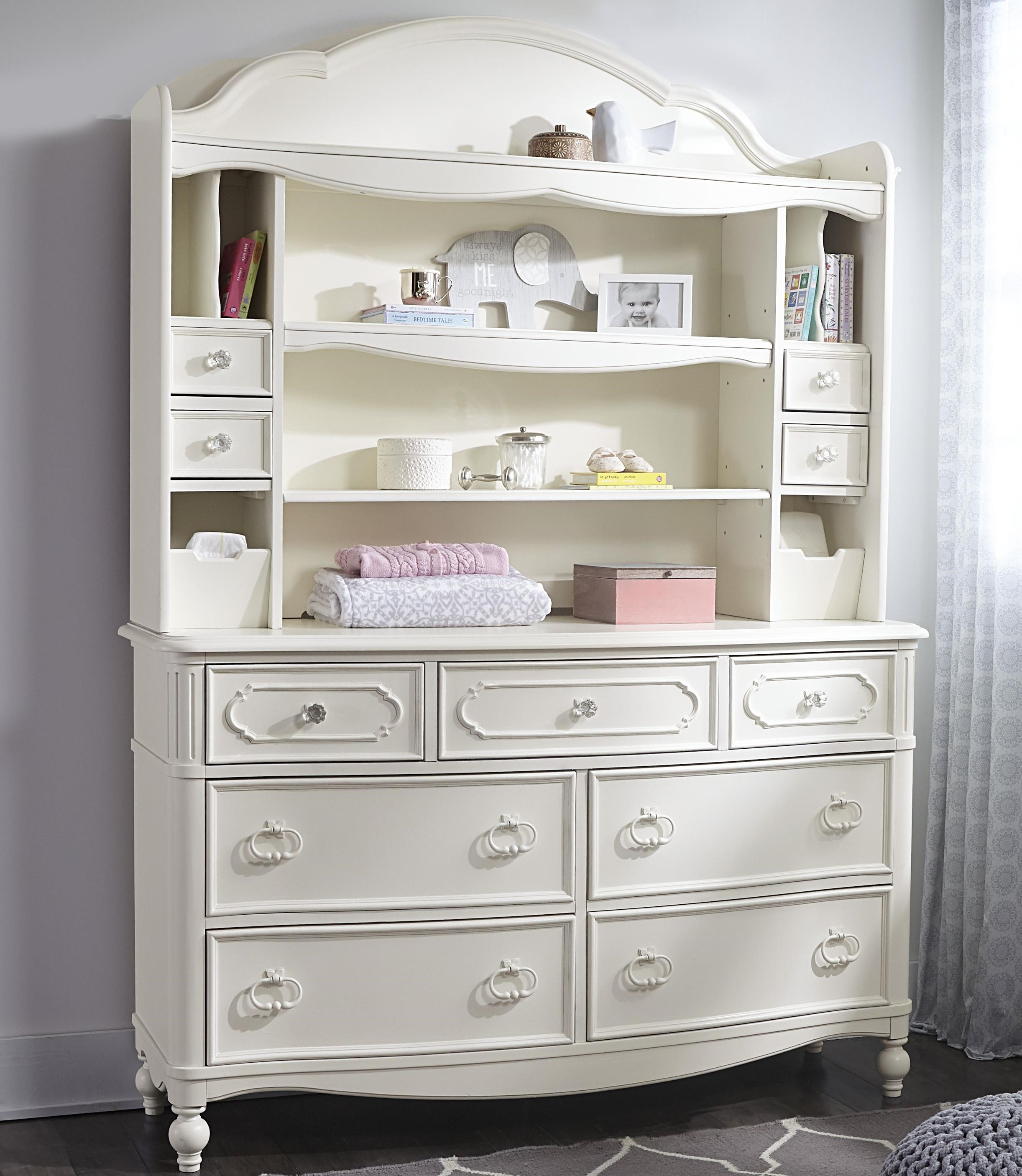 Etonnant Legacy Classic Kids Harmony Dresser + Changing Hutch With Strap Access