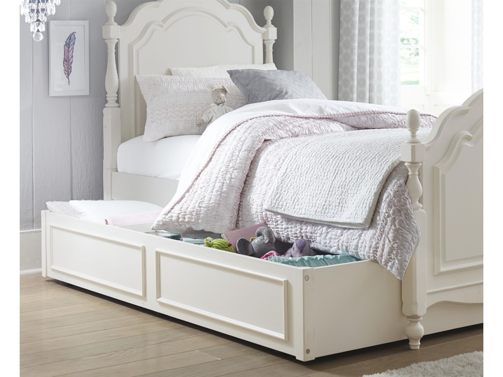 Legacy Classic Kids HarmonySummerset Low Poster Twin Bed with Trundle
