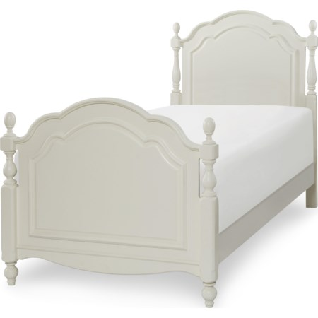 Summerset Low Poster Twin Bed