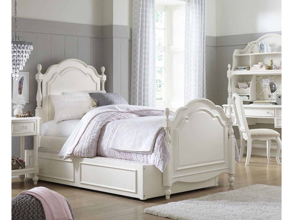 Legacy Classic Kids HarmonySummerset Low Poster Twin Bed