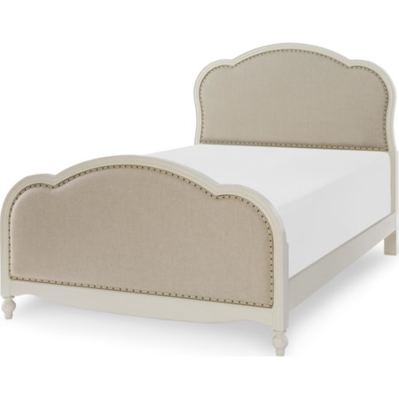 Victoria Upholstered Panel Full Bed