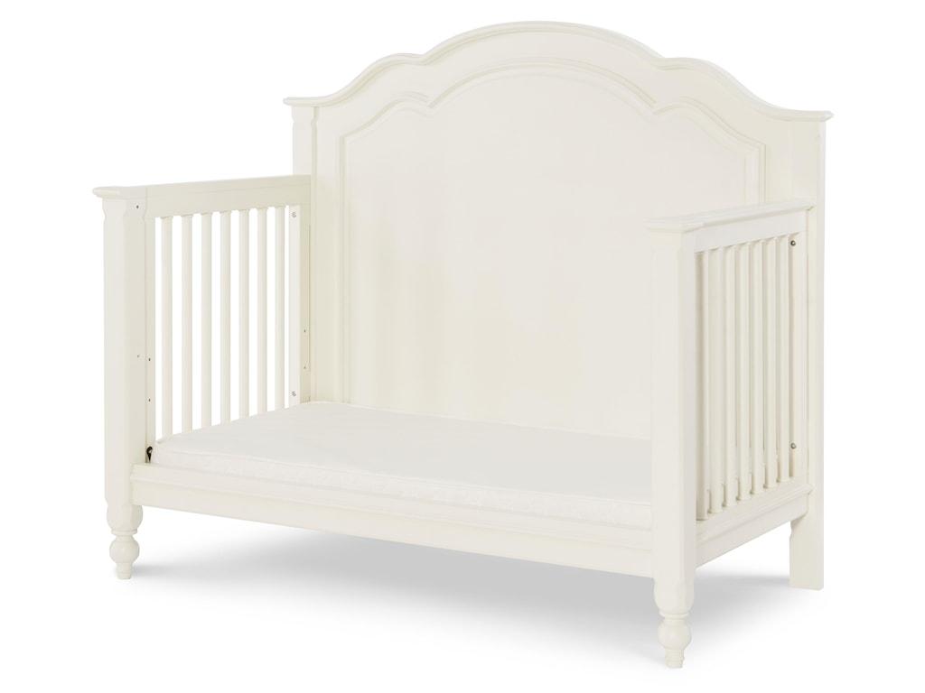 Remove Crib Footboard to Create a Preschool Daybed
