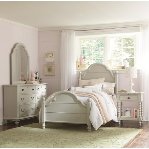 Legacy Classic Kids Inspirations by Wendy Bellissimo Full Bedroom Group 2