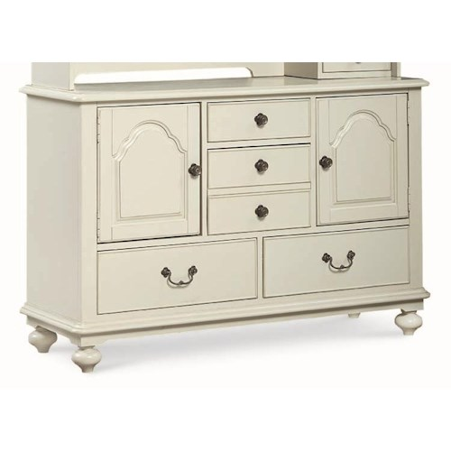 Legacy Classic Kids Inspirations by Wendy Bellissimo Door Dresser with 2 Doors and 5 Drawers