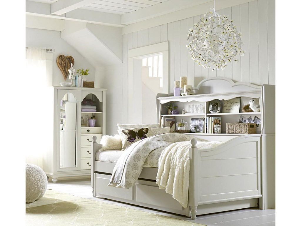 Trundle/Storage Drawer Shown Is Not Included