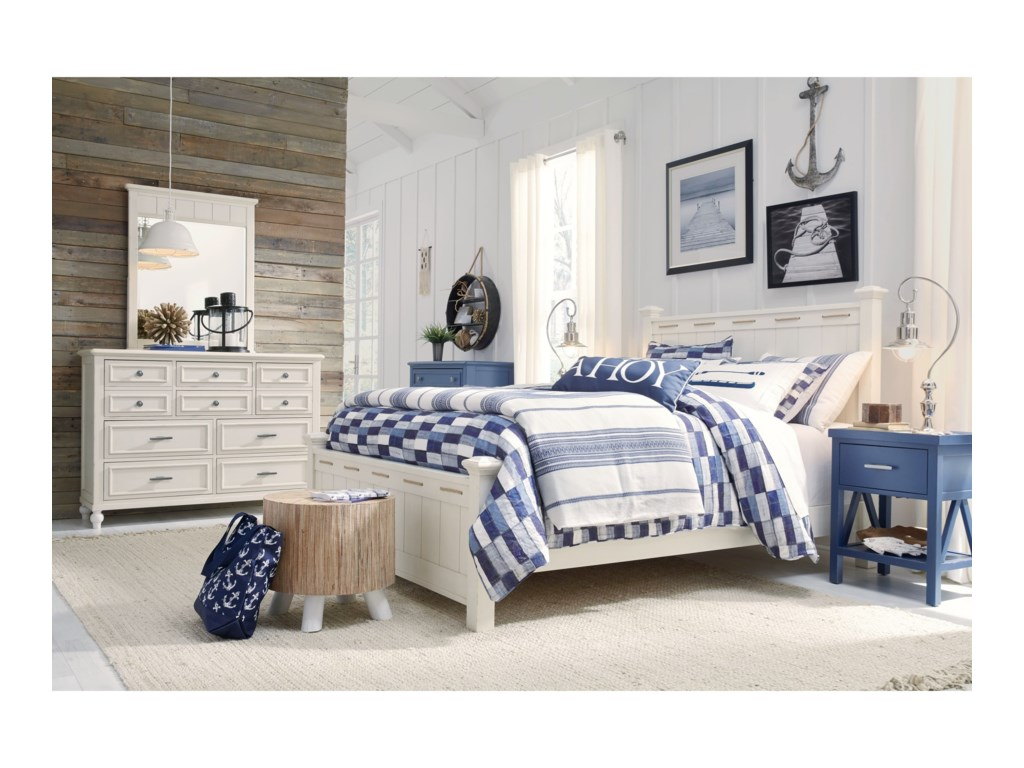 Legacy Classic Kids Lake HouseQueen Bedroom Group