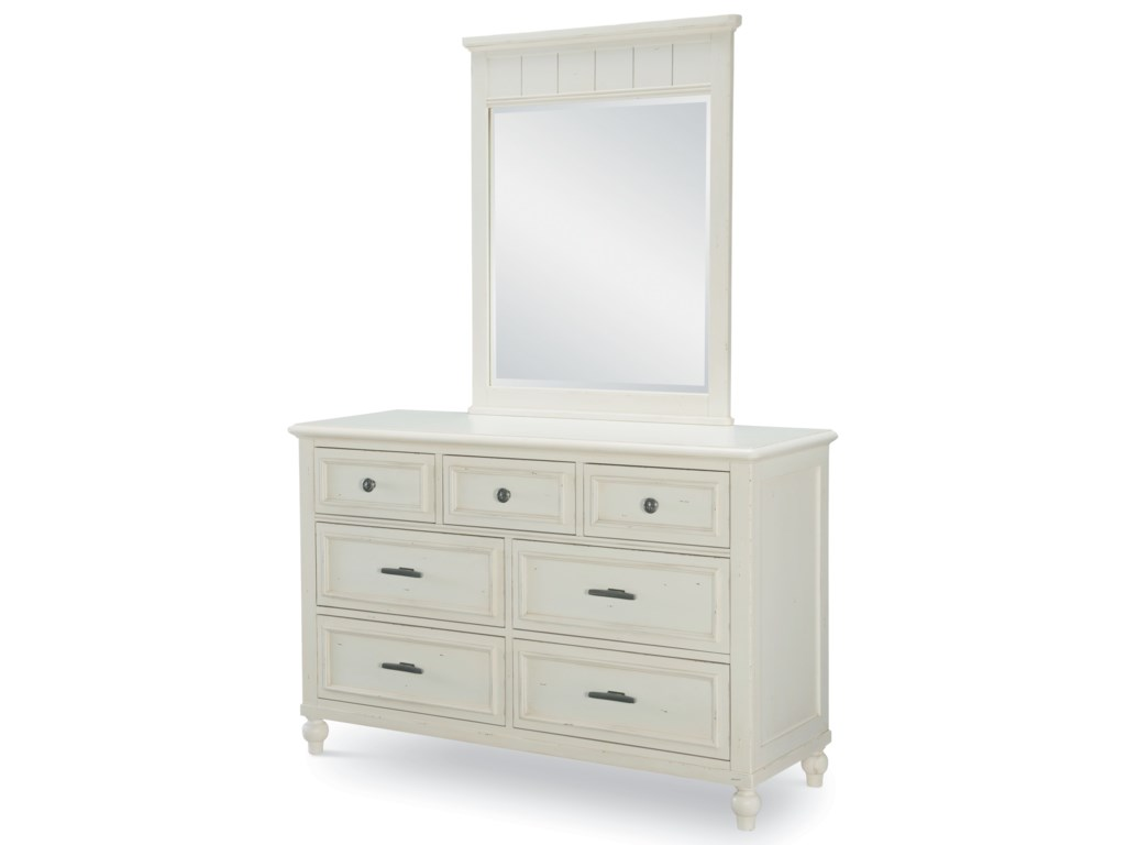 Legacy Classic Kids Lake HouseDresser and Mirror Set