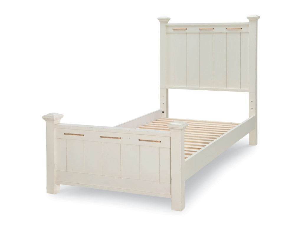 Legacy Classic Kids Lake HouseTwin Low Post Bed