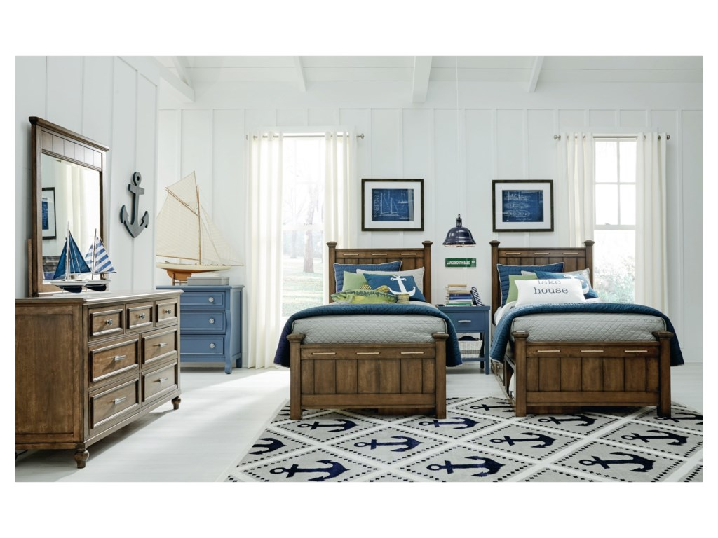 Legacy Classic Kids Lake HouseTwin Bedroom Group