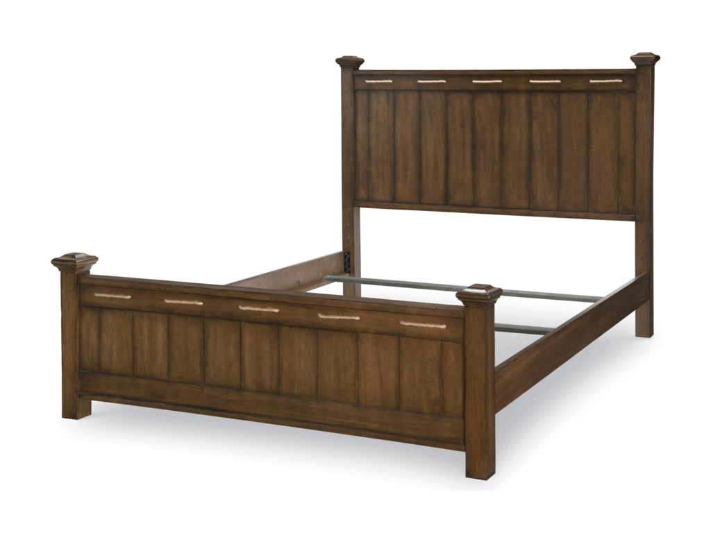 Legacy Classic Kids Lake HouseQueen Low Post Bed