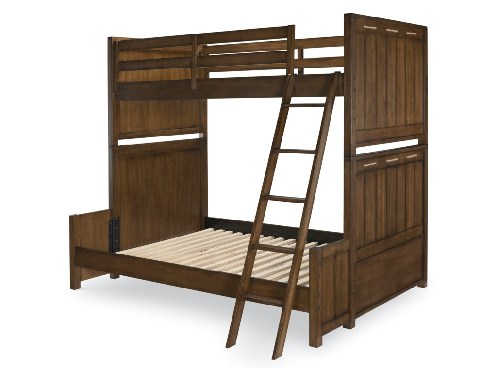 Legacy Classic Kids Lake HouseTwin over Full Bunk Bed